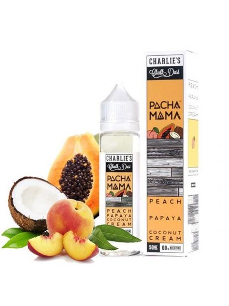 peach papaya pachamama eliquid 50ml