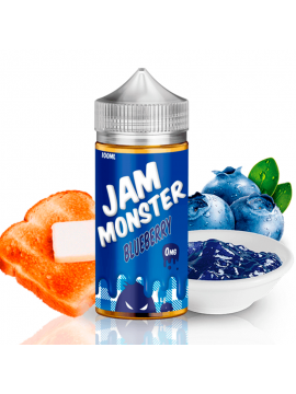 Blueberry - Jam Monster 100ml