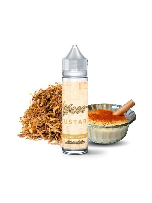 burst ejuice custard bacco