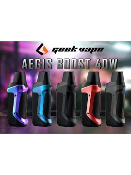 aegis boost geek vape pod mod kit