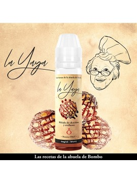 La Yaya Helado de Chocolate y Avellanas - Bombo 50ml