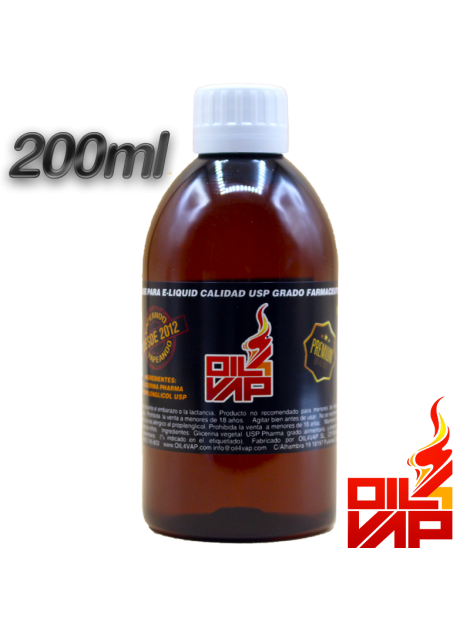 base 70VG/30PG oil4vap 200ml alquimia