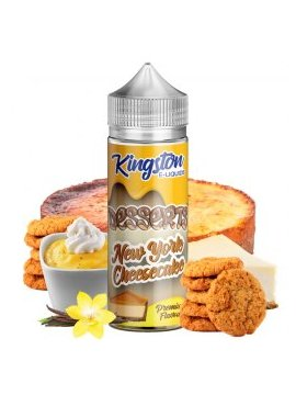 New York Cheesecake - Kingston E-liquids 100ml