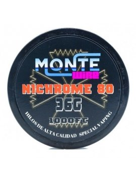 Ni80 36G 1000FT - Monte Wire