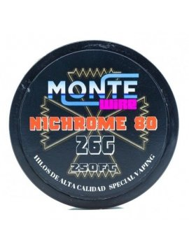 Ni80 26G 250FT - Monte Wire