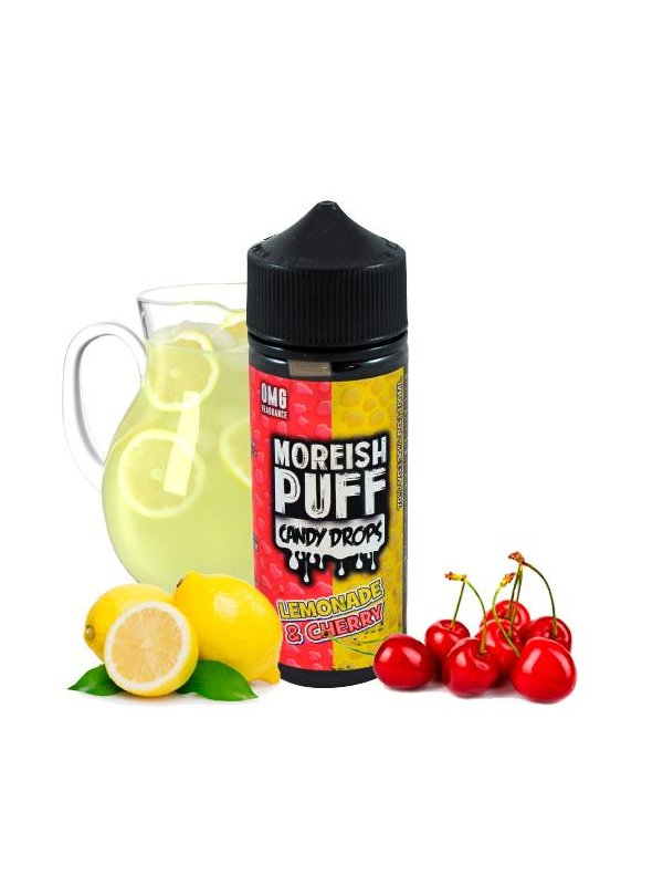 Lemonade Cherry Candy Drops - Moreish Puff 100ml