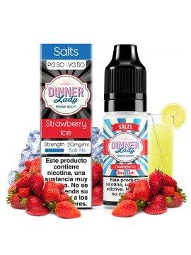 Strawberry Ice - Dinner Lady Salts 20mg